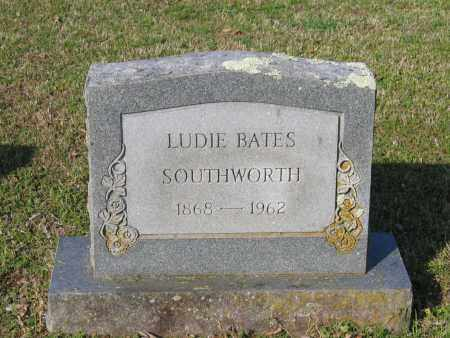 BATES, LEONA LUDIE BLOND - Lawrence County, Arkansas | LEONA LUDIE BLOND BATES - Arkansas Gravestone Photos