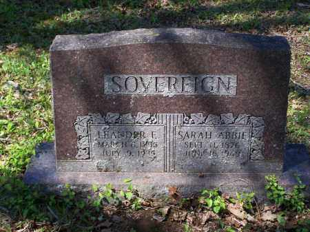 SOVEREIGN, SARAH ABIGAIL - Lawrence County, Arkansas | SARAH ABIGAIL SOVEREIGN - Arkansas Gravestone Photos