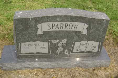 SPARROW, JAMES ALFORD - Lawrence County, Arkansas | JAMES ALFORD SPARROW - Arkansas Gravestone Photos