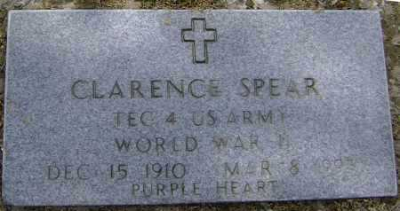 SPEAR  (VETERAN WWII), CLARENCE - Lawrence County, Arkansas | CLARENCE SPEAR  (VETERAN WWII) - Arkansas Gravestone Photos
