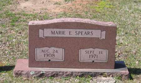 SPEARS, MARIE E. - Lawrence County, Arkansas | MARIE E. SPEARS - Arkansas Gravestone Photos