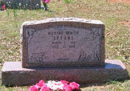 SPEARS, RICHARD MERTON - Lawrence County, Arkansas | RICHARD MERTON SPEARS - Arkansas Gravestone Photos