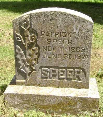SPEER, PATRICK L. - Lawrence County, Arkansas | PATRICK L. SPEER - Arkansas Gravestone Photos