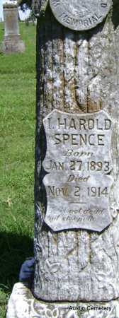 SPENCE, HAROLD - Lawrence County, Arkansas | HAROLD SPENCE - Arkansas Gravestone Photos