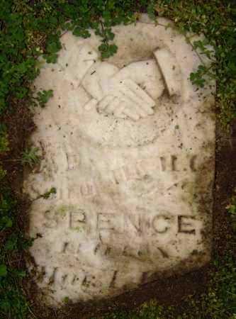 SPENCE, J. D. - Lawrence County, Arkansas | J. D. SPENCE - Arkansas Gravestone Photos