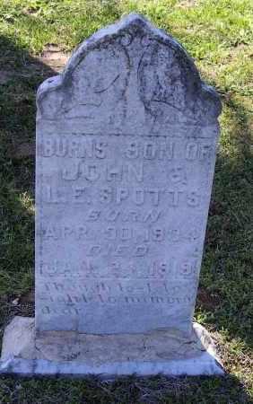 SPOTTS, EDWARD BURNS - Lawrence County, Arkansas | EDWARD BURNS SPOTTS - Arkansas Gravestone Photos