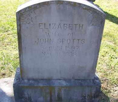 "SPOTTS, LOUCINDA ELIZABETH ""BETTIE"" - Lawrence County, Arkansas | LOUCINDA ELIZABETH ""BETTIE"" SPOTTS - Arkansas Gravestone Photos"