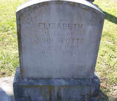 "BUCK SPOTTS, LOUCINDA ELIZABETH ""BETTIE"" - Lawrence County, Arkansas 