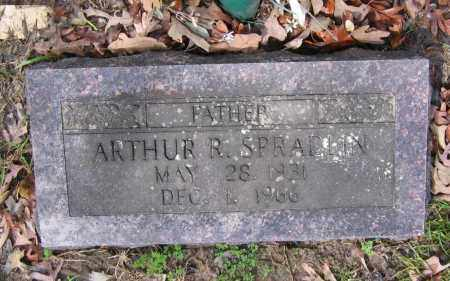SPRADLIN, ARTHUR R. - Lawrence County, Arkansas   ARTHUR R. SPRADLIN - Arkansas Gravestone Photos
