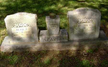 SPARGO, ALVIE G. - Lawrence County, Arkansas | ALVIE G. SPARGO - Arkansas Gravestone Photos