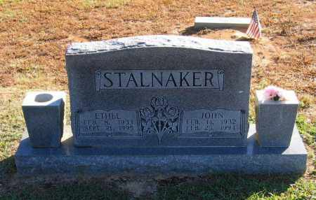 STALNAKER, JOHN WILLIAM WESLEY - Lawrence County, Arkansas | JOHN WILLIAM WESLEY STALNAKER - Arkansas Gravestone Photos