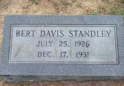 STANDLEY, BERT DAVIS - Lawrence County, Arkansas | BERT DAVIS STANDLEY - Arkansas Gravestone Photos