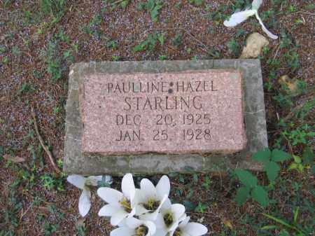 STARLING, PAULLINE HAZEL - Lawrence County, Arkansas | PAULLINE HAZEL STARLING - Arkansas Gravestone Photos