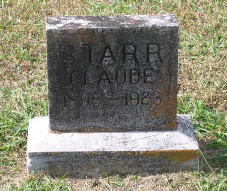 STARR, CLAUDE - Lawrence County, Arkansas | CLAUDE STARR - Arkansas Gravestone Photos