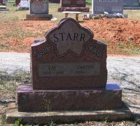 STARR, SR, FAY HAVEN - Lawrence County, Arkansas | FAY HAVEN STARR, SR - Arkansas Gravestone Photos