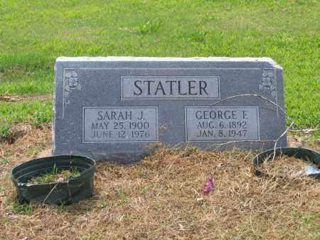 "STATLER, SARAH J.  ""SALLIE"" - Lawrence County, Arkansas | SARAH J.  ""SALLIE"" STATLER - Arkansas Gravestone Photos"