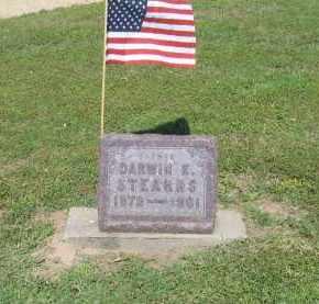 STEARNS (VETERAN), DARWIN E. - Lawrence County, Arkansas   DARWIN E. STEARNS (VETERAN) - Arkansas Gravestone Photos