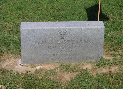 STEARNS (VETERAN WWII), JAMES A. - Lawrence County, Arkansas | JAMES A. STEARNS (VETERAN WWII) - Arkansas Gravestone Photos