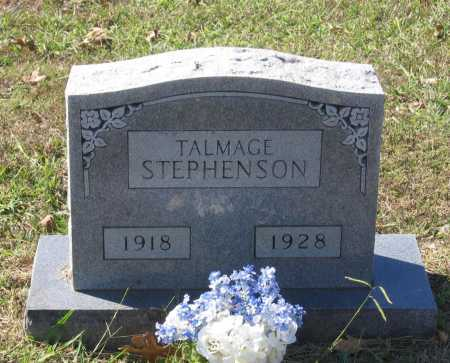 STEPHENSON, TALMAGE - Lawrence County, Arkansas | TALMAGE STEPHENSON - Arkansas Gravestone Photos