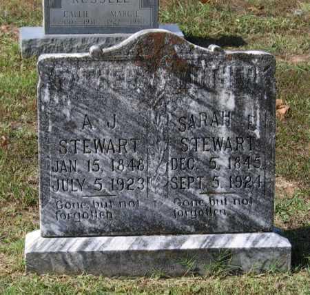 THOMASON STEWART, SARAH ELIZABETH - Lawrence County, Arkansas   SARAH ELIZABETH THOMASON STEWART - Arkansas Gravestone Photos