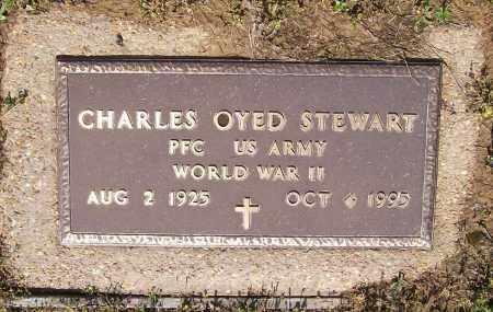 STEWART (VETERAN WWII), CHARLEY OYED - Lawrence County, Arkansas | CHARLEY OYED STEWART (VETERAN WWII) - Arkansas Gravestone Photos