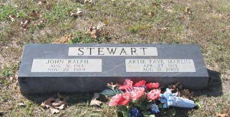 STEWART, JOHN RALPH - Lawrence County, Arkansas | JOHN RALPH STEWART - Arkansas Gravestone Photos