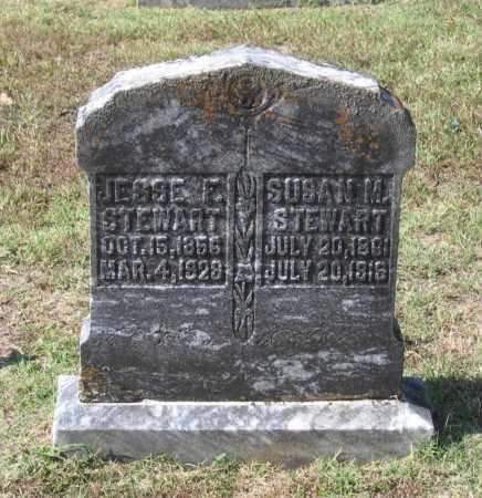 BREVARD STEWART, SUSAN MAHALA - Lawrence County, Arkansas | SUSAN MAHALA BREVARD STEWART - Arkansas Gravestone Photos