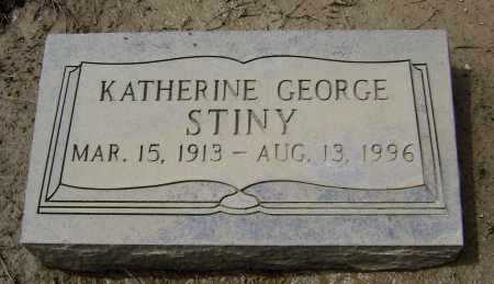 GEORGE STINY, KATHERINE - Lawrence County, Arkansas | KATHERINE GEORGE STINY - Arkansas Gravestone Photos