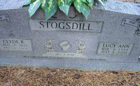 STOGSDILL, CLYDE RUDDELL - Lawrence County, Arkansas | CLYDE RUDDELL STOGSDILL - Arkansas Gravestone Photos