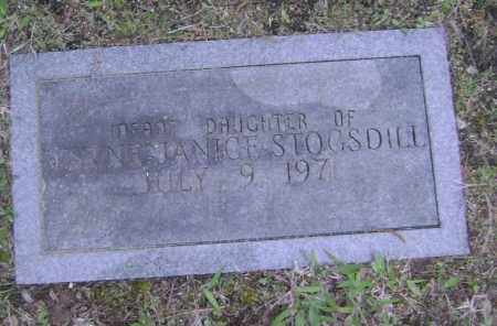 STOGSDILL, INFANT DAUGHTER - Lawrence County, Arkansas | INFANT DAUGHTER STOGSDILL - Arkansas Gravestone Photos