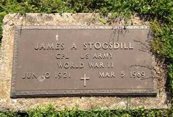 STOGSDILL (VETERAN WWII), JAMES A - Lawrence County, Arkansas | JAMES A STOGSDILL (VETERAN WWII) - Arkansas Gravestone Photos
