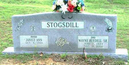 STOGSDILL. SR., WAYNE RUEDELL - Lawrence County, Arkansas   WAYNE RUEDELL STOGSDILL. SR. - Arkansas Gravestone Photos