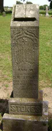 STOKES, ANN M. - Lawrence County, Arkansas | ANN M. STOKES - Arkansas Gravestone Photos