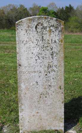 STOKES (VETERAN), JOHN WILLIAM - Lawrence County, Arkansas | JOHN WILLIAM STOKES (VETERAN) - Arkansas Gravestone Photos