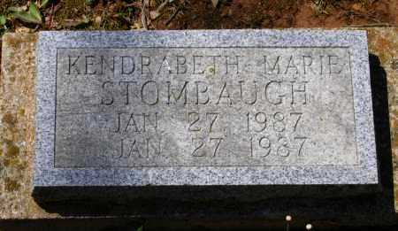 STOMBAUGH, KENDRABETH MARIE - Lawrence County, Arkansas   KENDRABETH MARIE STOMBAUGH - Arkansas Gravestone Photos
