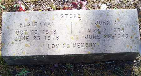 STONE, JOHN C. - Lawrence County, Arkansas | JOHN C. STONE - Arkansas Gravestone Photos
