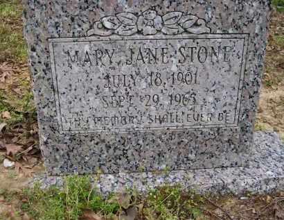 STONE, MARY JANE - Lawrence County, Arkansas | MARY JANE STONE - Arkansas Gravestone Photos