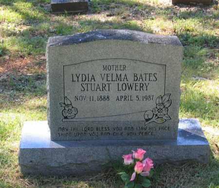 LOWERY, LYDIA VELMA BATES - Lawrence County, Arkansas | LYDIA VELMA BATES LOWERY - Arkansas Gravestone Photos