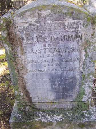 DE'ARMAN STUART, MARTHA ELOISE - Lawrence County, Arkansas | MARTHA ELOISE DE'ARMAN STUART - Arkansas Gravestone Photos