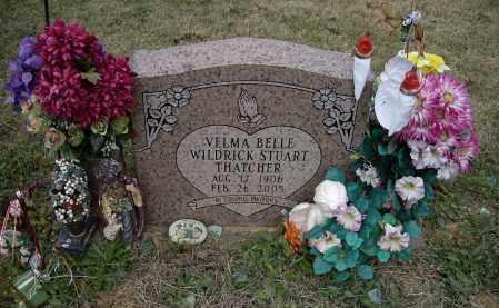 THATCHER, VELMA BELLE WILDRICK STUART - Lawrence County, Arkansas | VELMA BELLE WILDRICK STUART THATCHER - Arkansas Gravestone Photos