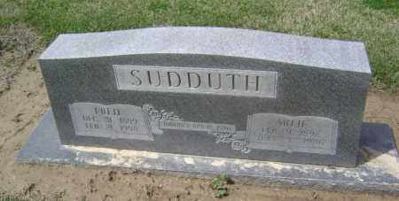 "SUDDUTH, WILLIAM FREDRICK ""FRED"" - Lawrence County, Arkansas | WILLIAM FREDRICK ""FRED"" SUDDUTH - Arkansas Gravestone Photos"