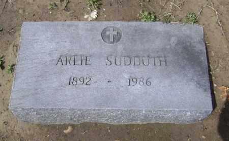 SUDDUTH, ARLIE JANE - Lawrence County, Arkansas   ARLIE JANE SUDDUTH - Arkansas Gravestone Photos