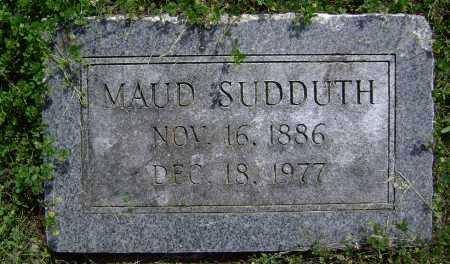 SUDDUTH, MAUDE MAE - Lawrence County, Arkansas   MAUDE MAE SUDDUTH - Arkansas Gravestone Photos