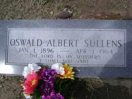 SULLENS, OSWALD ALBERT - Lawrence County, Arkansas | OSWALD ALBERT SULLENS - Arkansas Gravestone Photos