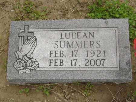 SUMMERS, LILLIE LUDEAN - Lawrence County, Arkansas | LILLIE LUDEAN SUMMERS - Arkansas Gravestone Photos