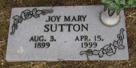 TUCKER SUTTON, JOY MARY - Lawrence County, Arkansas | JOY MARY TUCKER SUTTON - Arkansas Gravestone Photos