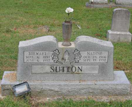 SUTTON, NADINE - Lawrence County, Arkansas | NADINE SUTTON - Arkansas Gravestone Photos