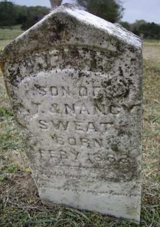 SWEAT, INFANT SON - Lawrence County, Arkansas   INFANT SON SWEAT - Arkansas Gravestone Photos