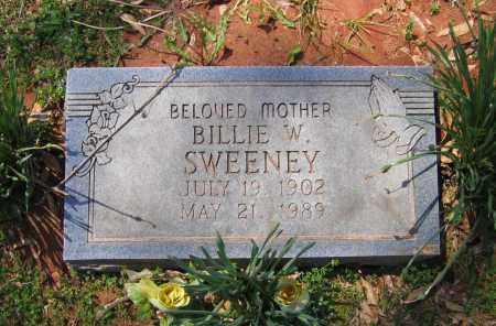 SWEENEY, BILLIE W. - Lawrence County, Arkansas | BILLIE W. SWEENEY - Arkansas Gravestone Photos