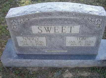 "SWEET, THOMAS J. ""TOM"" - Lawrence County, Arkansas | THOMAS J. ""TOM"" SWEET - Arkansas Gravestone Photos"